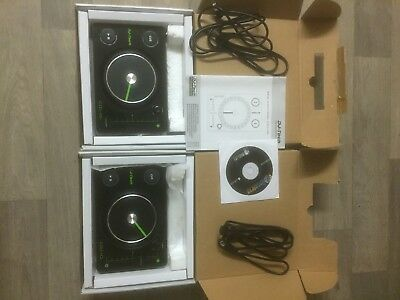 Pair Of DJ Tech CDJ101 Mixer Usb Powered Midi Controllers Boxed With DJ Software