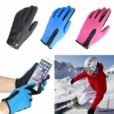 Windstopper Warm Outdoor Sports Tool Ski Gloves Winter Goods Touch Screen