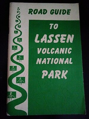 1958 Road Guide To Lassen Volcanic National Park
