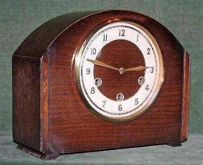 Nice Smiths Mantle Clock with Westminster Chimes circa 1930's