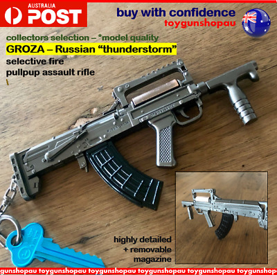 BEST GUN KEYRING Russian Assault Rifle Groza Keyring Gun
