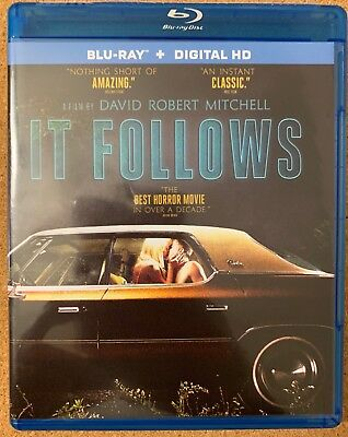 It Follows Blu Ray Free World Wide Shipping Buy It Now Best Horror Movie Decade