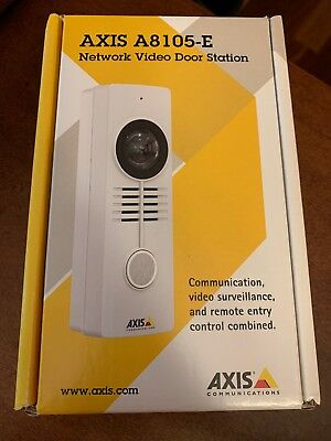 AXIS A8105-E Network IP Video Door Station 0871-001 Brand New Sealed