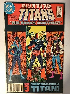 Tales Of The Teen Titans #44 Fn Condition 1St Appearence Of Nightwing Newstand