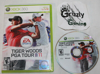 USED Tiger Woods PGA Tour 11 Xbox 360 (NTSC) -Canadian Seller-