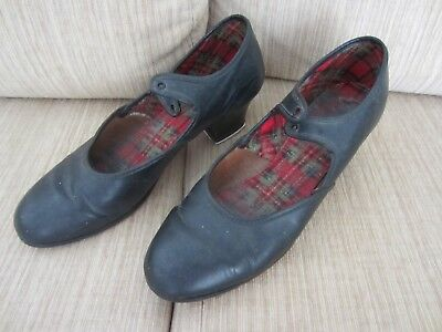 Tap Shoes - Ladies Black Size 6