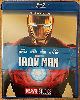 Marvel Iron Man Blu Ray Free World Wide Shipping Buy It Now Robert Downey Jr