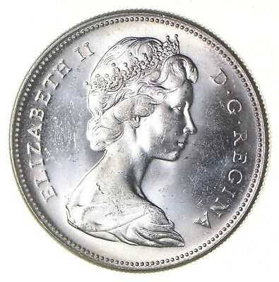 Silver Dollar 80% 1967 Canada Canadian ASW .60 Troy Ounces *331