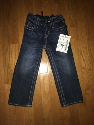 True Religion Straight Jeans Kids Size 4T
