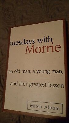 Tuesdays with Morrie An Old Man, a Young Man, and Life's Greatest Lesson