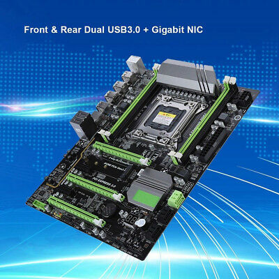 X79T Mainboard 8 Pin Motherboard DDR3 Memory High-speed Connection USB