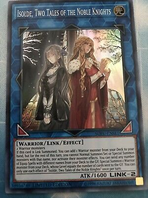 Yu-Gi-Oh! Isolde, Two Tales of the Noble Knights-EXFO-EN094-Ultra Rare-NM