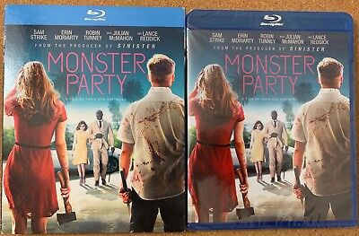 New Monster Party Blu Ray + Slipcover Sleeve Free World Wide Shipping Buy It Now