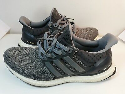 "ced787cdc Men s Adidas Ultra Boost Ltd ""Mystery Grey 1.0"" AQ5560 11.5US Pre Owned"