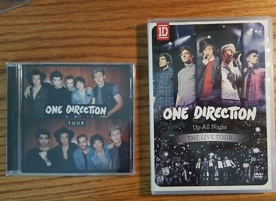 One Direction: Up All Night The Live Tour DVD and Four CD