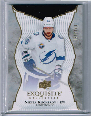 2017-18 UD Exquisite Collection Base Nikita Kucherov /149 - Lightning