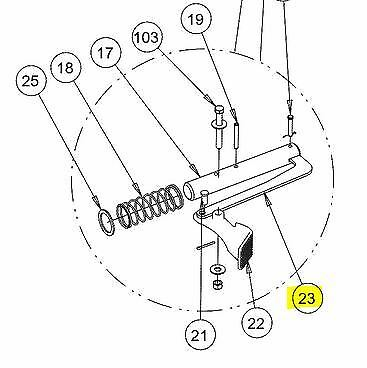 Buyers Products 16160400 Plow Side Control Harness