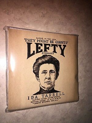 TMBG Lefty strings They Might be Giants Ida Tarbell Electric Guitar strings