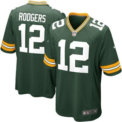 #12 Aaron Rodgers Medium Nike Green Bay Packers NFL jersey BNWT