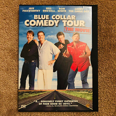 BLUE COLLAR COMEDY TOUR: THE MOVIE DVD, Jeff Foxworthy, Bill Engvall, 2003!!