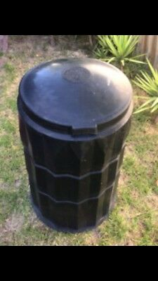 Black Compost Bin 7 Cubic Feet (2 Cubic Metres) In Vgc