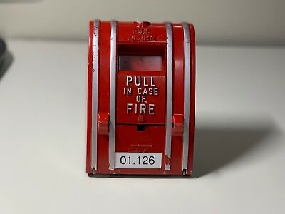 EST Edwards SIGA-270 Fire Alarm Addressable Pull Station