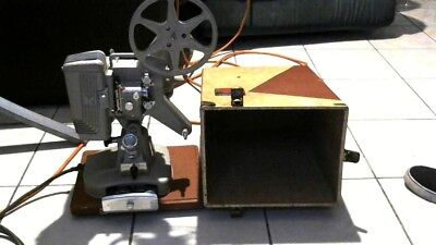 Kodak Keystone 109D 8mm Movie Film Projector in Original Case Works Tested VTG