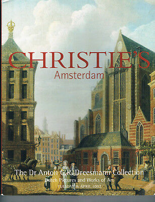 Christies Dr. Anton Dreesmann Collection-Dutch Pictures & Works of Art  Apr 2002