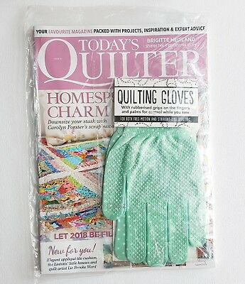 Today's Quilter - Issue 31 with  Free Gift of Quilting Gloves