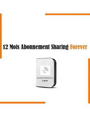 Abonnement Forever Recharge 12 Mois Officiel Server Forever