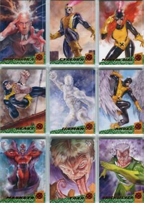 2018 Fleer Ultra X-Men The Originals Complete 10 Card Insert Set