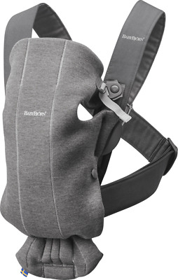 BabyBjörn baby carrier mini - dark grey 3d jersey NEW