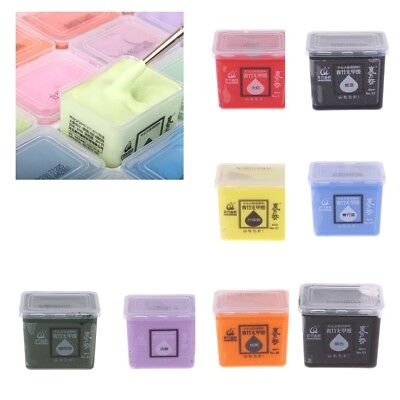 Professional 80ml Gouache Paint Jelly Cup Design Drawing Watercolor Paints