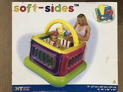 Playpen - Intec Soft Sides Lil' Baby Gym - 9 to 18 months - BOXED, NEVER OPENED