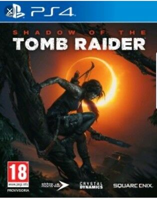 SHADOW OF THE TOMB RAIDER PS4 - ITALIANO - PLAYSTATION 4 - come nuovo!!!