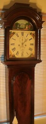 "Antique Mahogany ""  Automation Tennis Ball ""  Grandfather / Longcase Clock"
