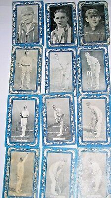 Vintage 1909  AUST/SOUTH AFR./ ENG CRICKETERS   WILLS & CAPSTAN CIGARETTE CARDS