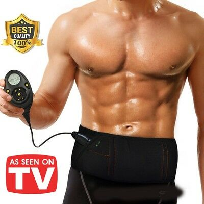 ABS Workout Belt Pro EMS Abdominal Muscle Fit Training Gear Toner-Core Toning