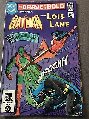 Brave And The Bold #175 : Batman and Lois Lane