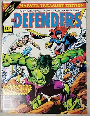 ** MARVEL TREASURY Edition 16 (NM 9.4) The DEFENDERS ORIGINAL OWNER Collection *