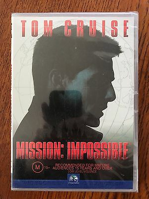 Mission Impossible DVD Region 4 New & Sealed Tom Cruise