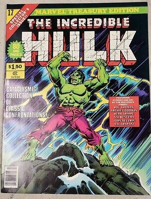 * MARVEL TREASURY Edition 17 (NM 9.4) Incredible HULK ORIGINAL OWNER Collection