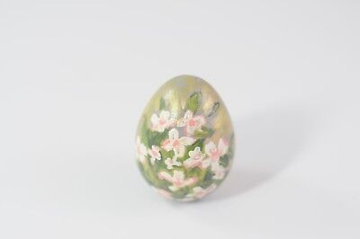 Vintage Ceramic Easter Egg Vintage Ceramic Painted Egg VGCond.