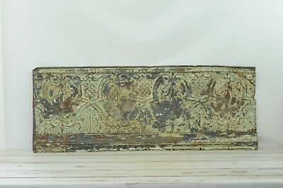 Antique Pressed Tin Ceiling Tile Ceiling Trim Piece Salvage