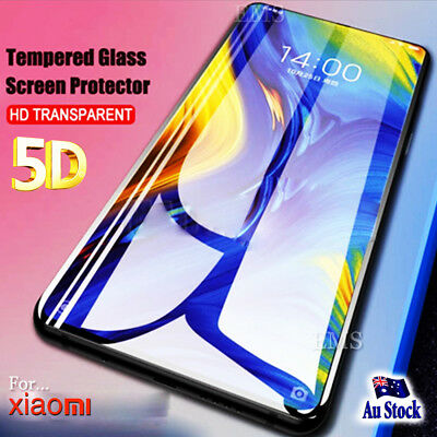 For Xiaomi Mi Mix 3 5D Full Screen  Coverage Tempered Glass Protector Guard