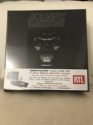 JOHNNY HALLYDAY - Rester vivant tour - EDITION DELUXE COLLECTOR - NEUF