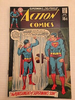 Action Comics #391, Superman & Legion Super-Heroes, VG