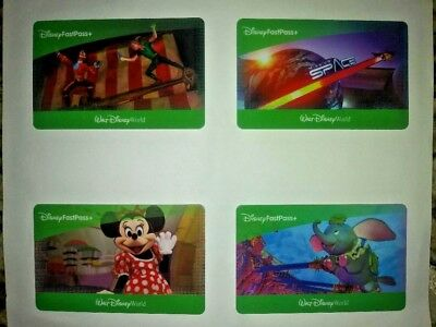 4 Disney 1 Day Park Hopper Passes NEVER USED EXP November 2020
