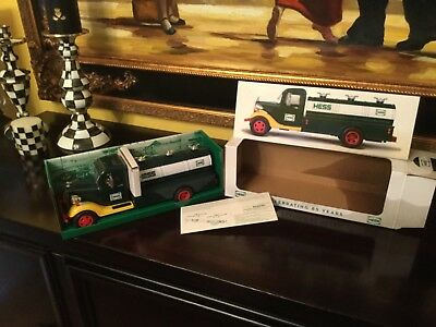 Hess 2018 Collectors Ltd Edition 1933 Fuel Truck Celebrating  85 Years Sold Out