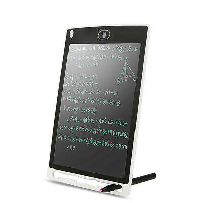 """8.5"""" Electronic LCD Writing Tablet Kids Portable Memo Graphics Drawing Pad W9I2"""